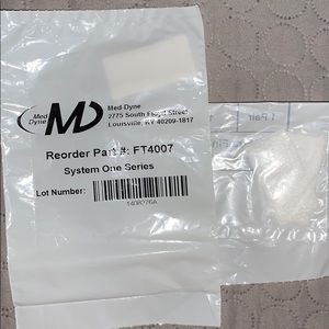 System One CPAP filters plus foam pollen filters